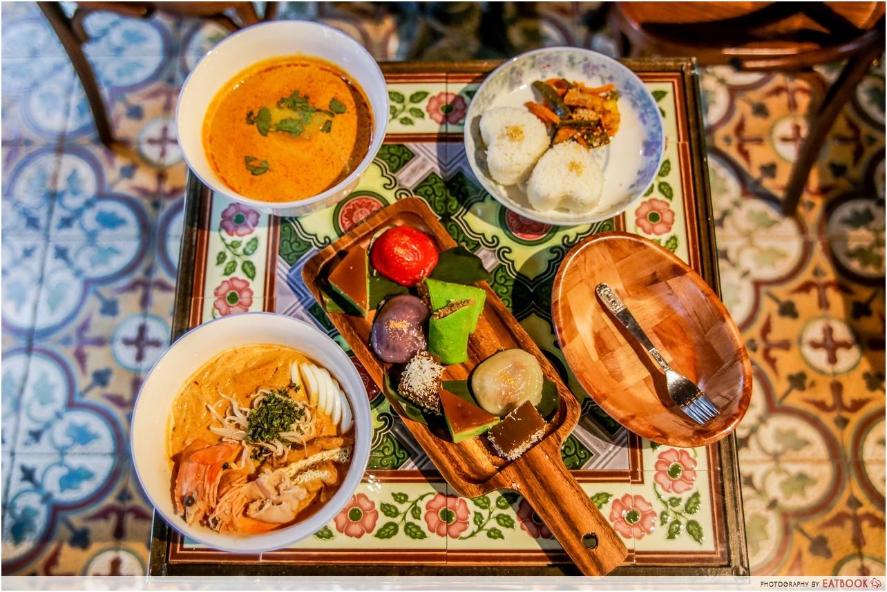 Telok Ayer food - chong wen ge