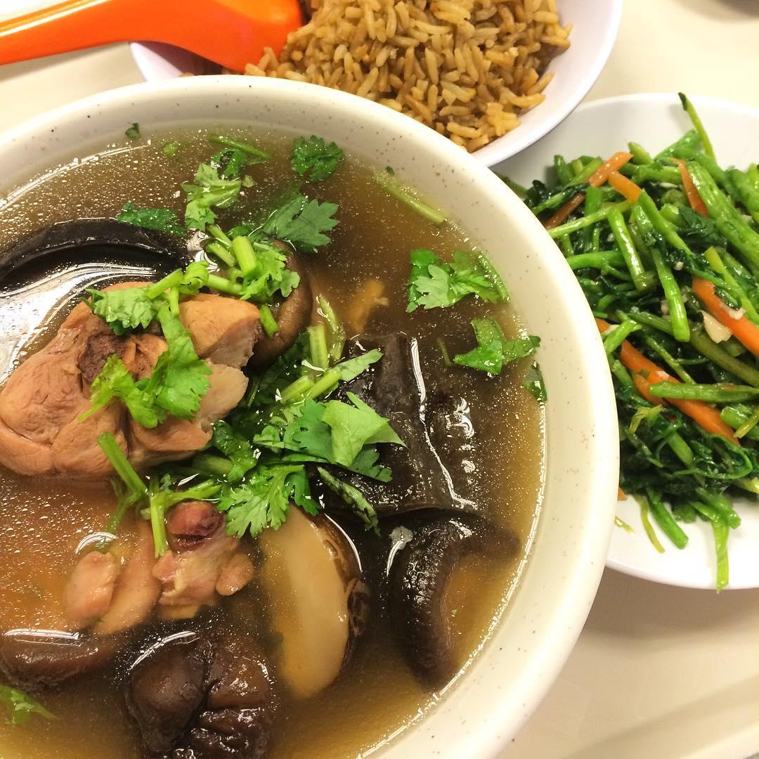 Telok Ayer food - soup