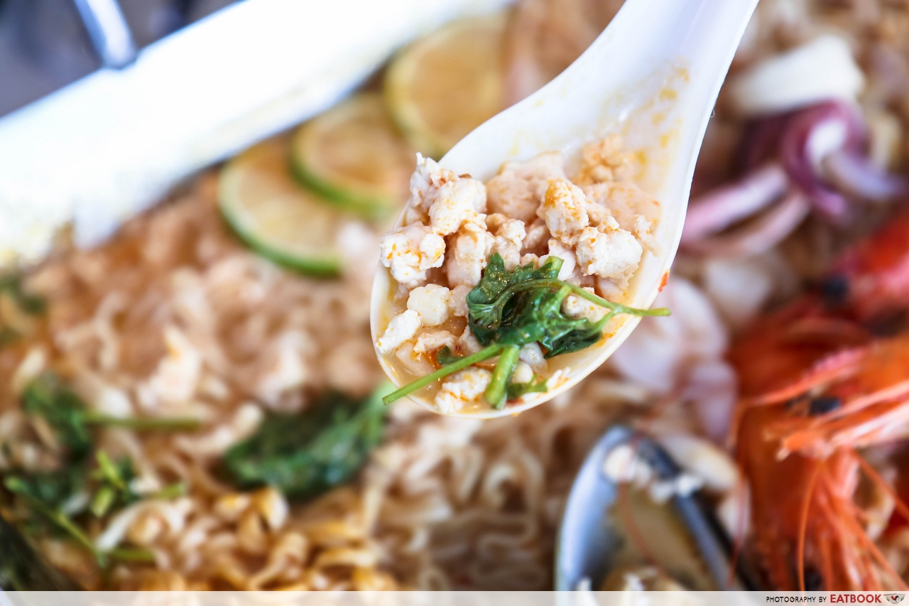 Thai Super Bowl - chicken