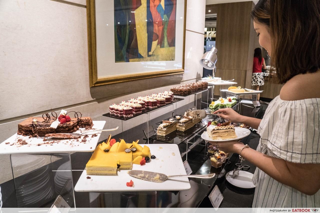 hotel buffets - cafe mosaic