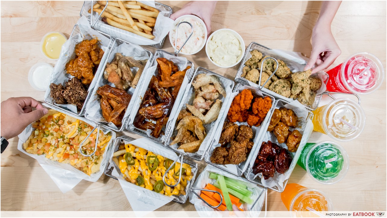Mmmm Wingstop fries might try. The seasonings that are on Wingstop French fries include Lawry's Seasoned Salt with a pinch of sugar blended in. Fry the potatoes, drain them and sprinkle with your seasoning blend for the same taste as the Wingstop fries.