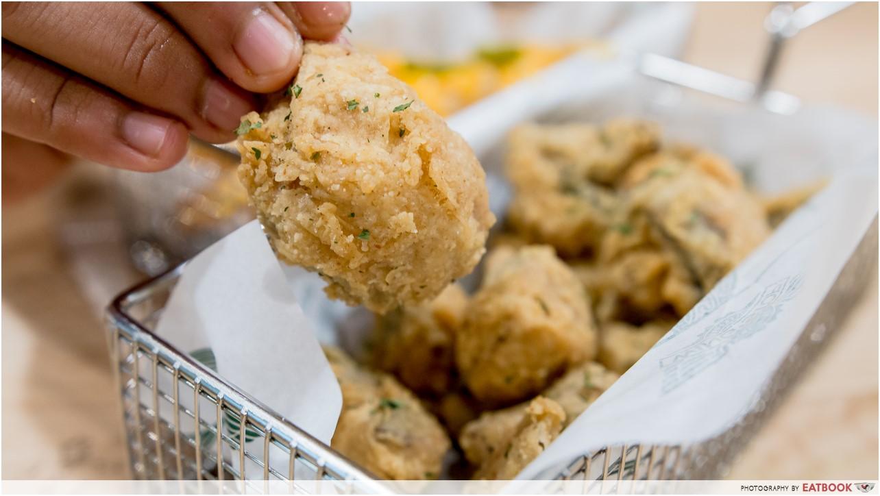 Wingstop - fried mushrooms
