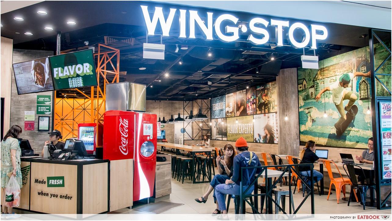 Wingstop - storefront