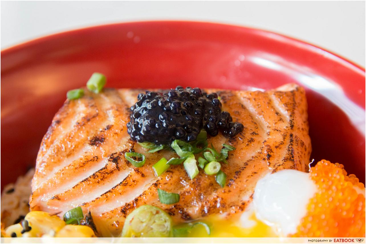 Boru Boru - salmon don