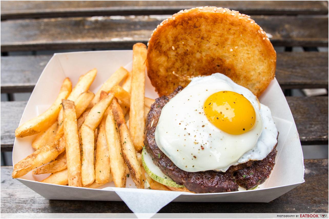 burger buddies - rendang beef