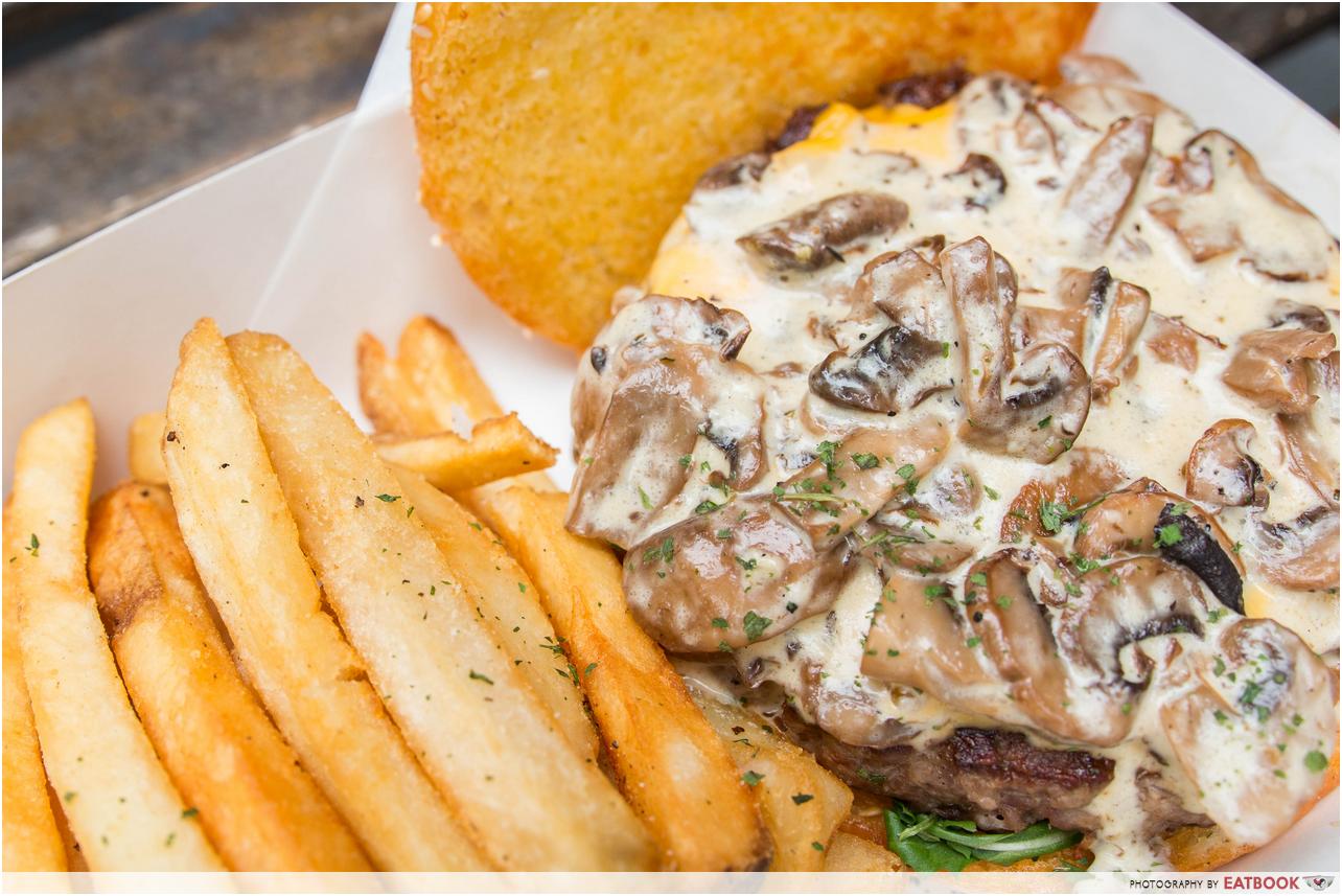 burger buddies - mushroom beef 1