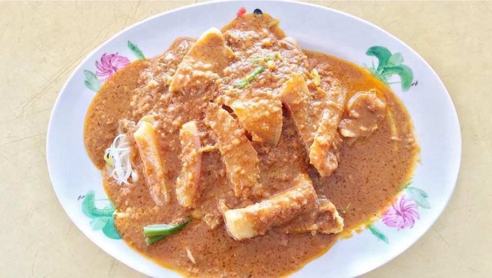 changi village food - ho guan satay bee hoon
