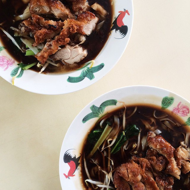 changi village food - ah hwee ipoh hor fun
