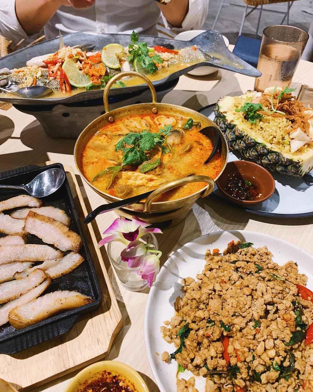 Affordable thai food baan ying