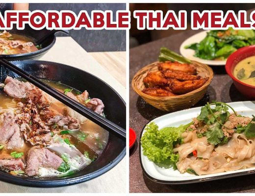 Affordable thai food cover