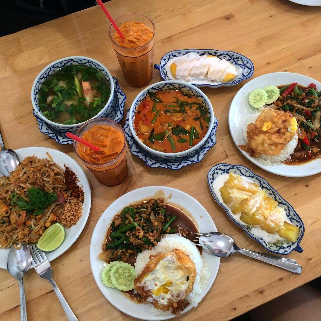 Affordable thai food nangfa thai kitchen