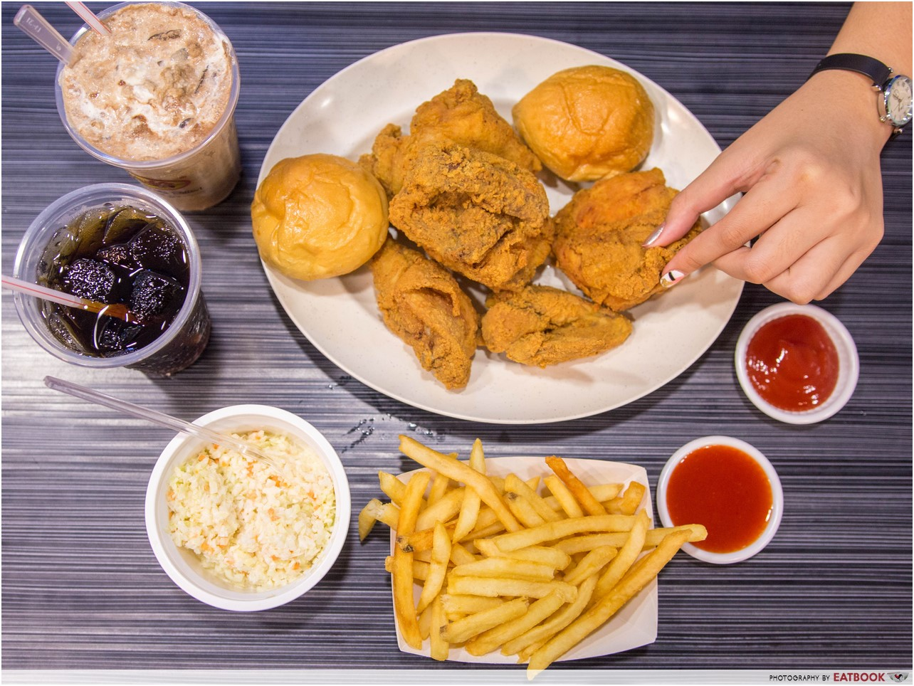 Arnold's fried chicken - 2 person combo