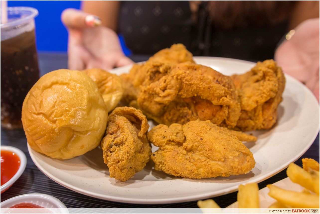 Arnold's fried chicken - combo meal