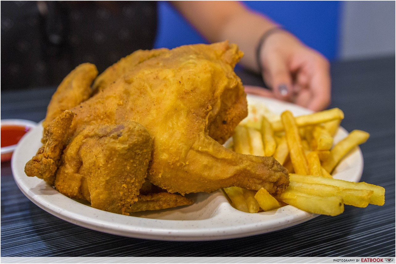 Arnold's fried chicken - whole chicken