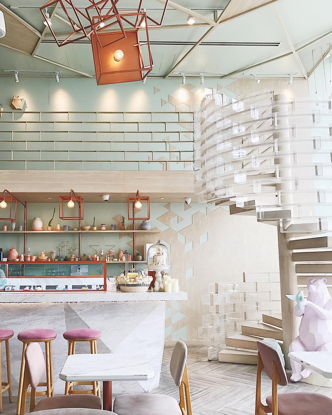 bangkok hipster cafe - shugaa