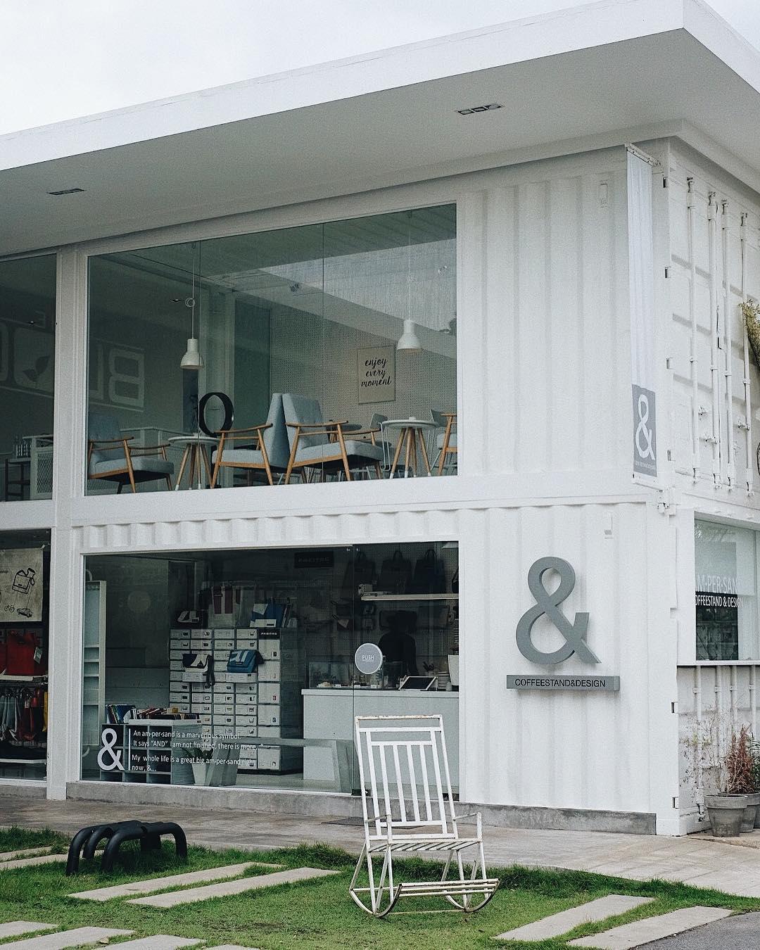 bangkok hipster cafe - design cafe