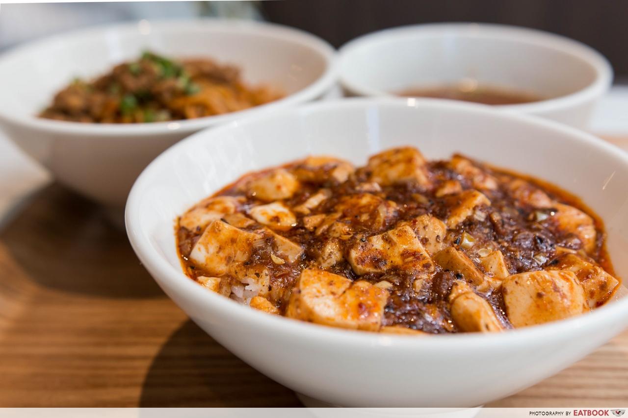 chen's mapo tofu - mapo tofu donburi