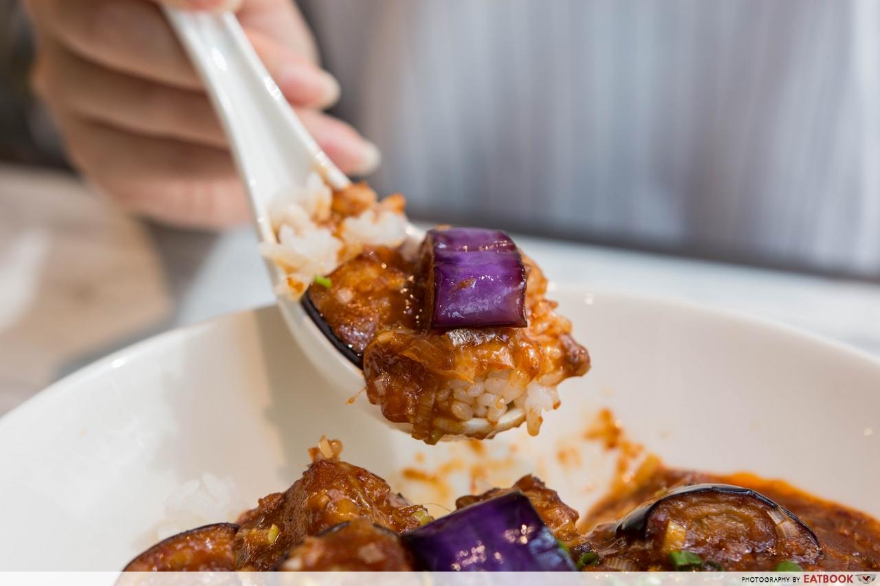 chen's mapo tofu - eggplant