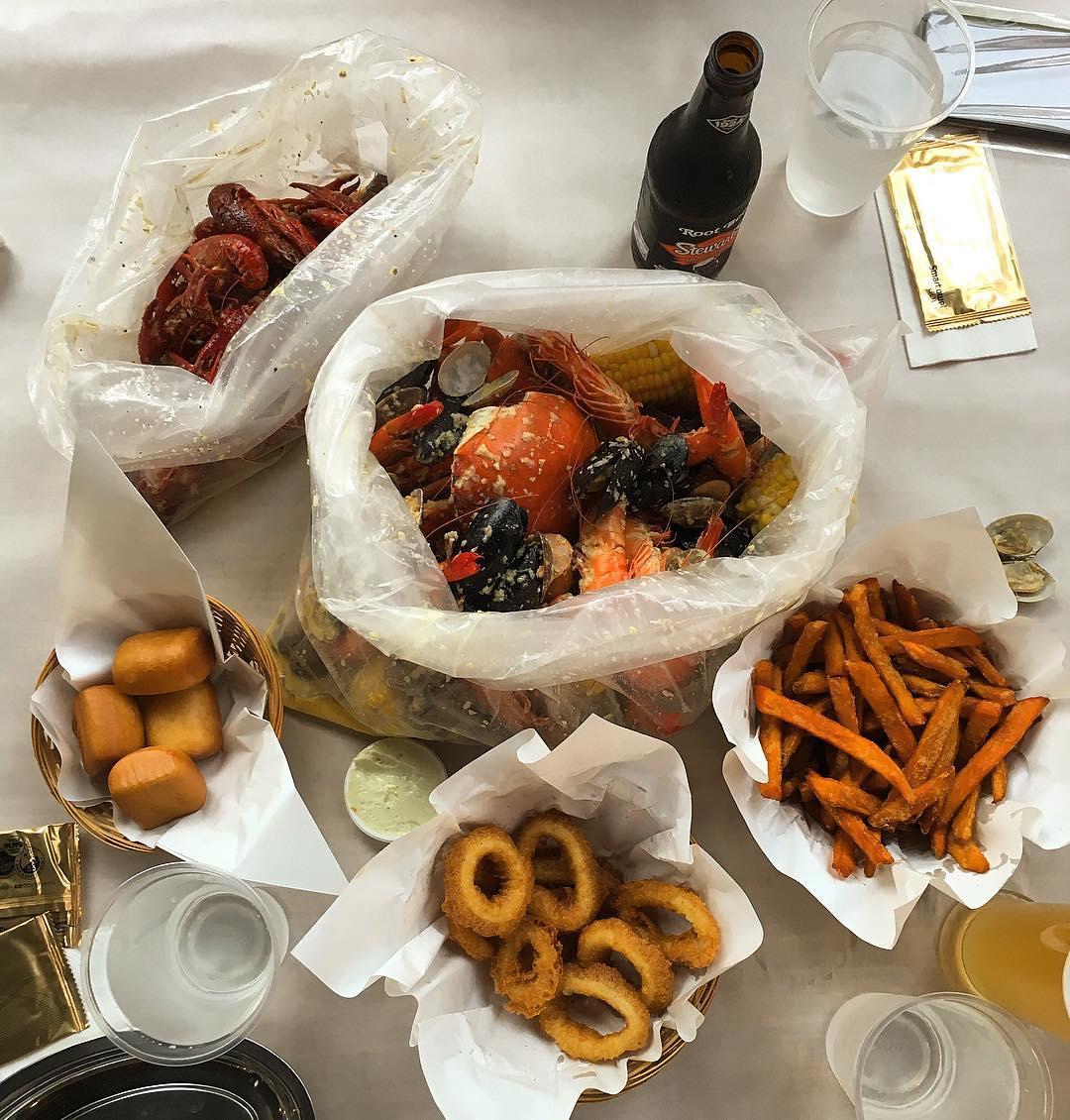 seafood feasts - boiler
