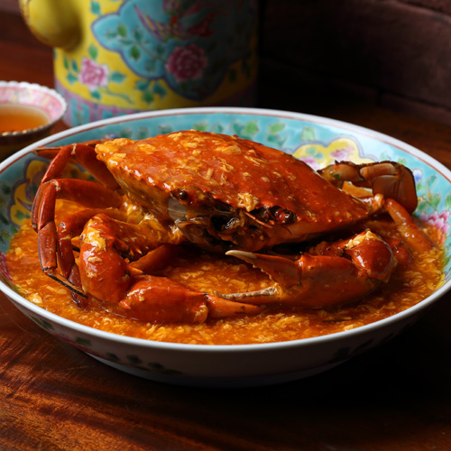 seafood feasts - tunglok chilli crab