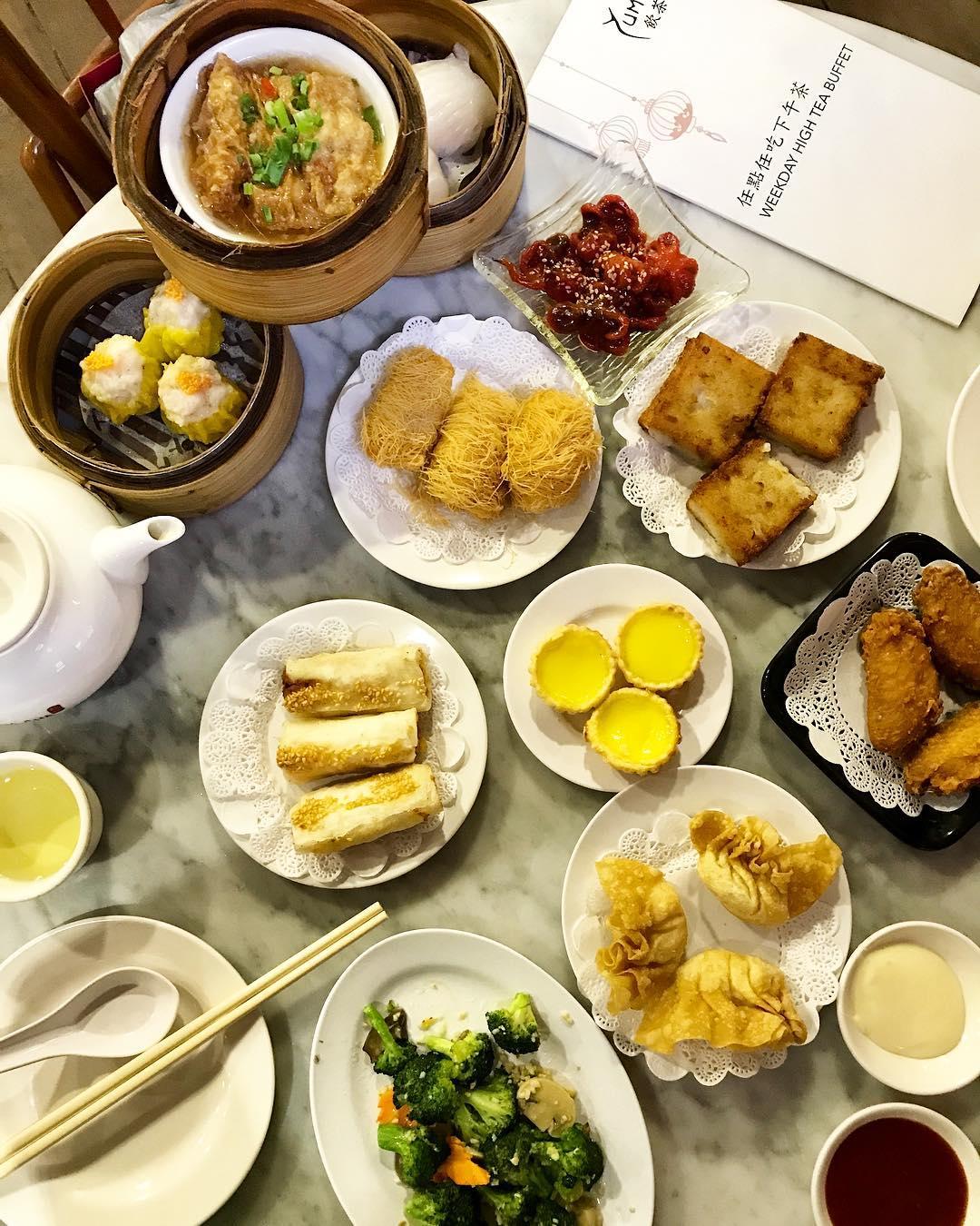 dim sum buffets - yum cha