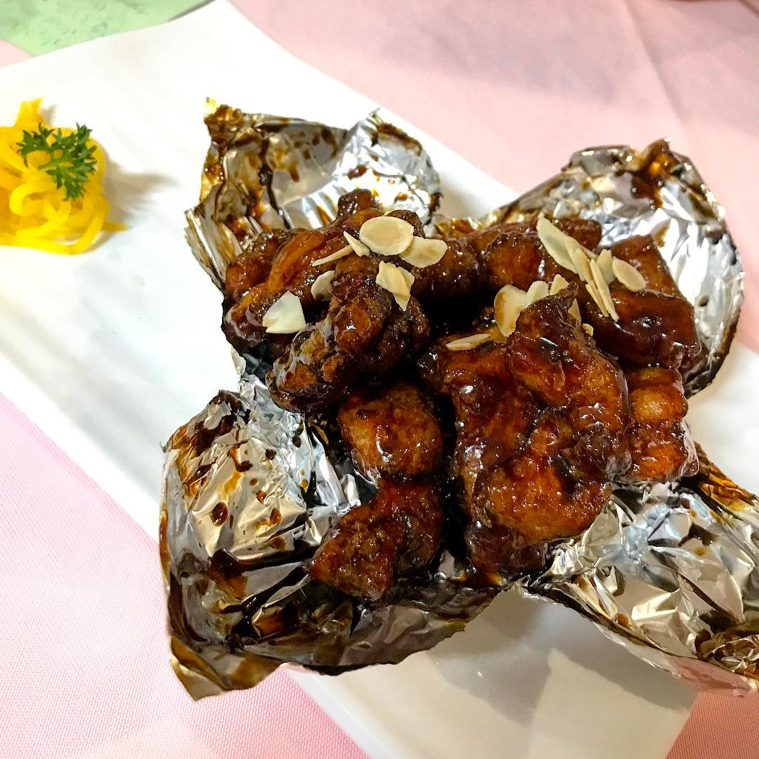 east-side zi char - coffee pork ribs