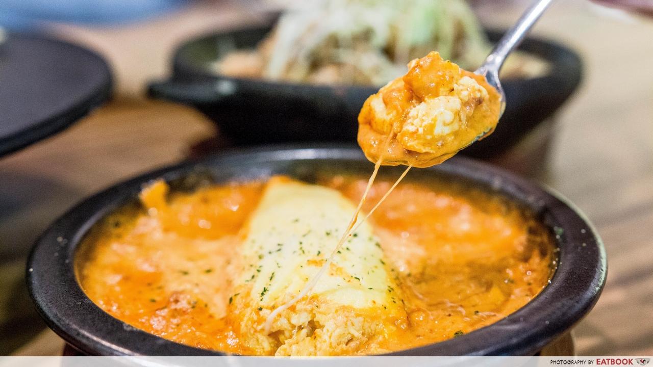 hansul - kimchi omelette