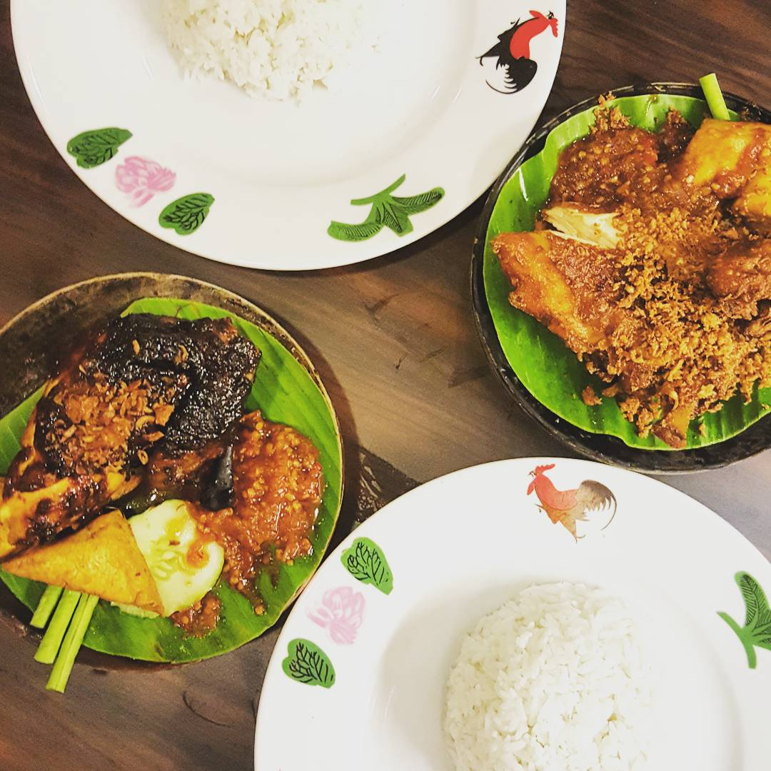 jb city square - ayam penyet ria