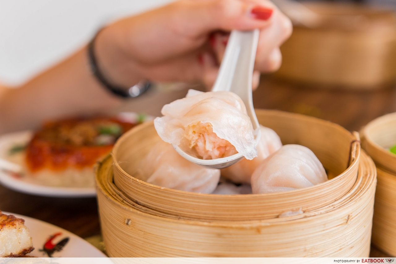 mongkok dim sum - prawn dumplings
