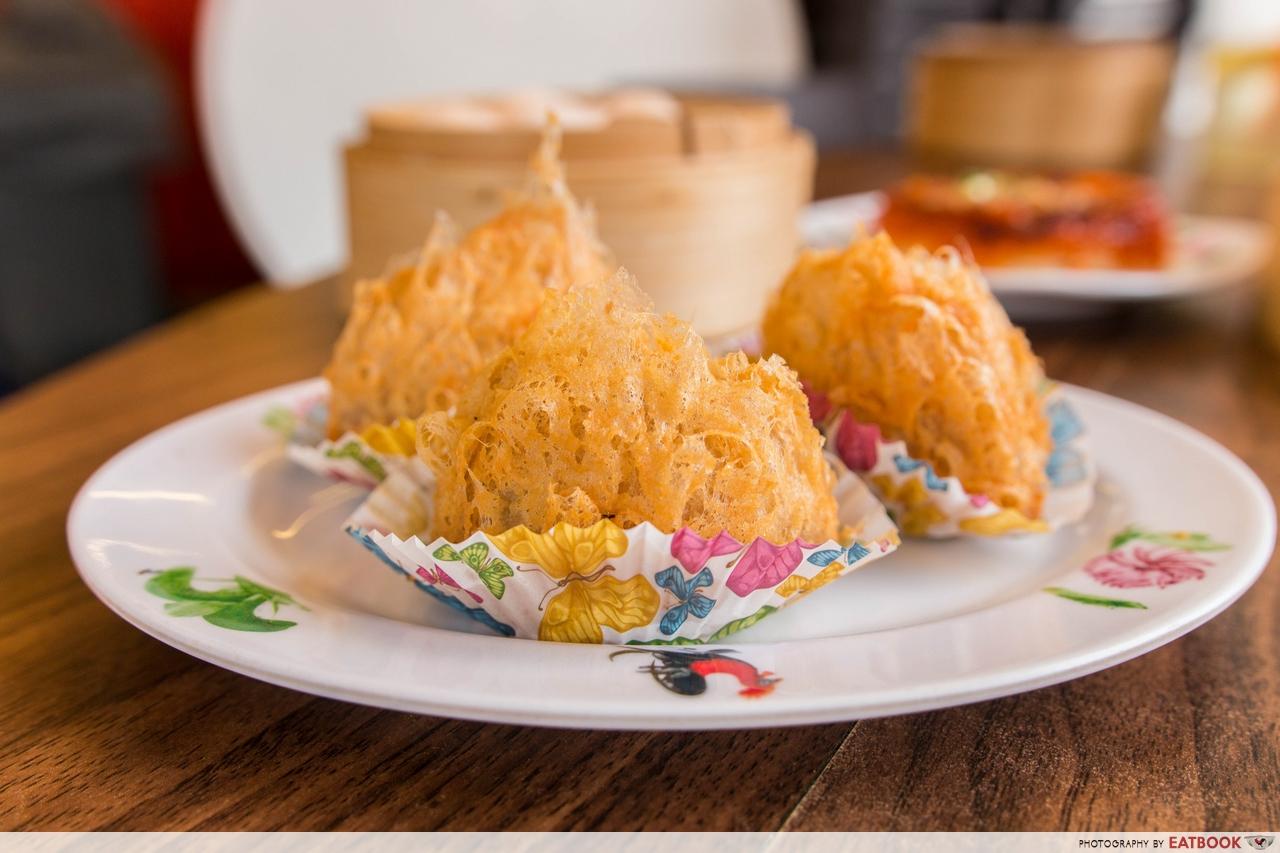 mongkok dim sum - yam pastry
