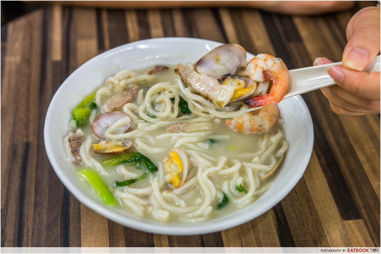 old house - thick soup noodle