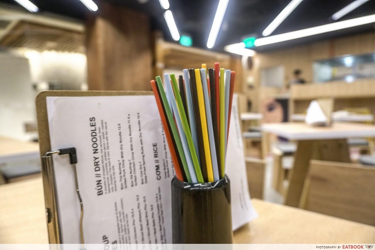 pho stop - chopsticks