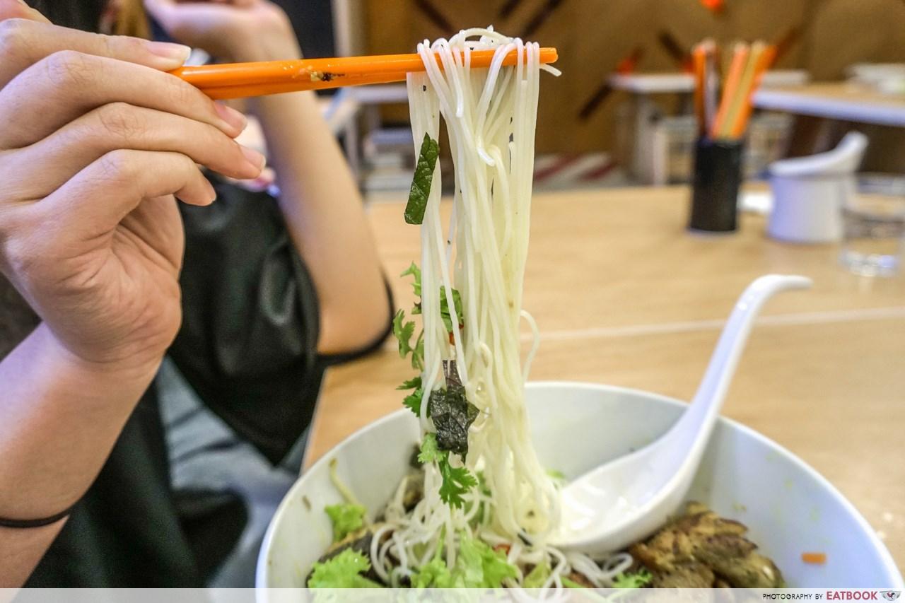 pho stop - noodles
