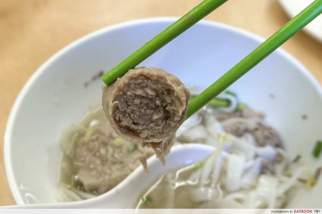 pho stop - meatball