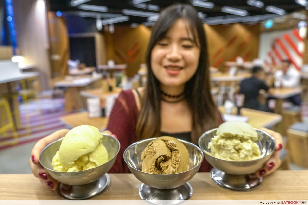 pho stop - ice cream