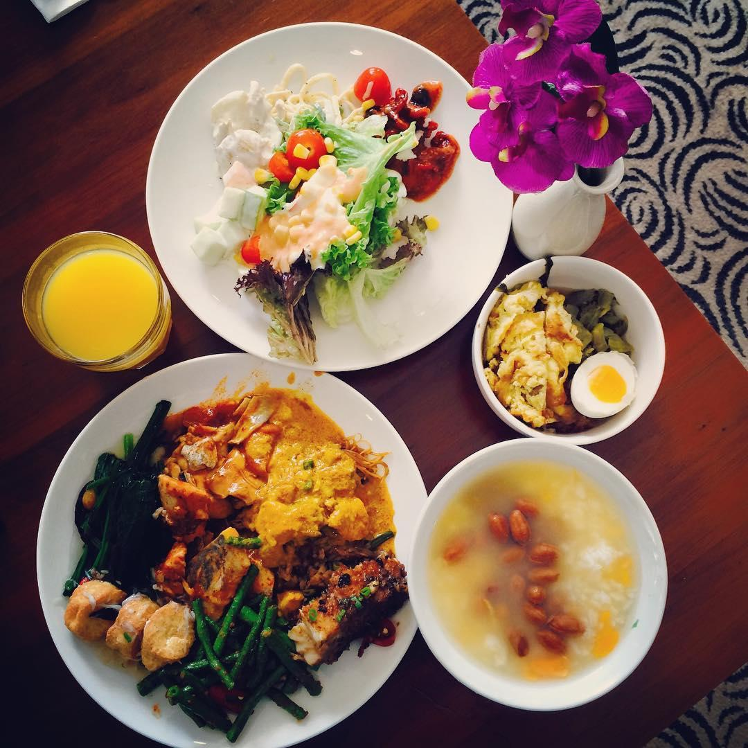 porridge buffets - orchid cafe