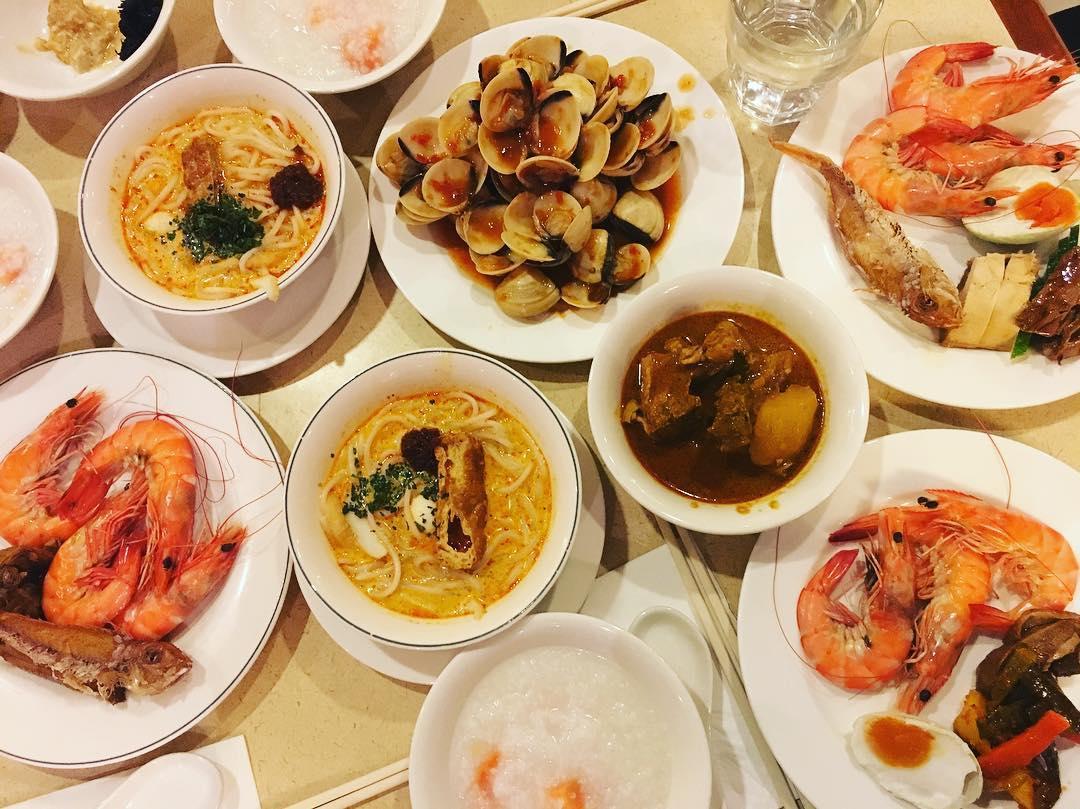 porridge buffets - quality cafe