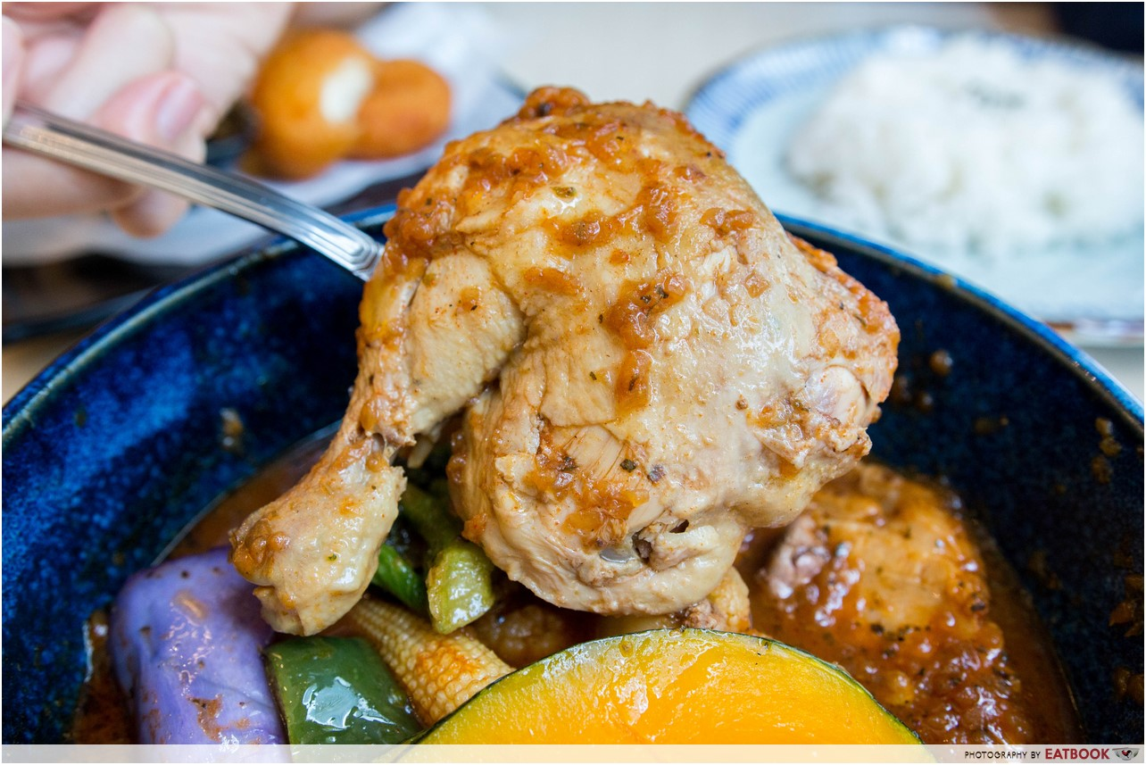 sama curry - chicken thigh