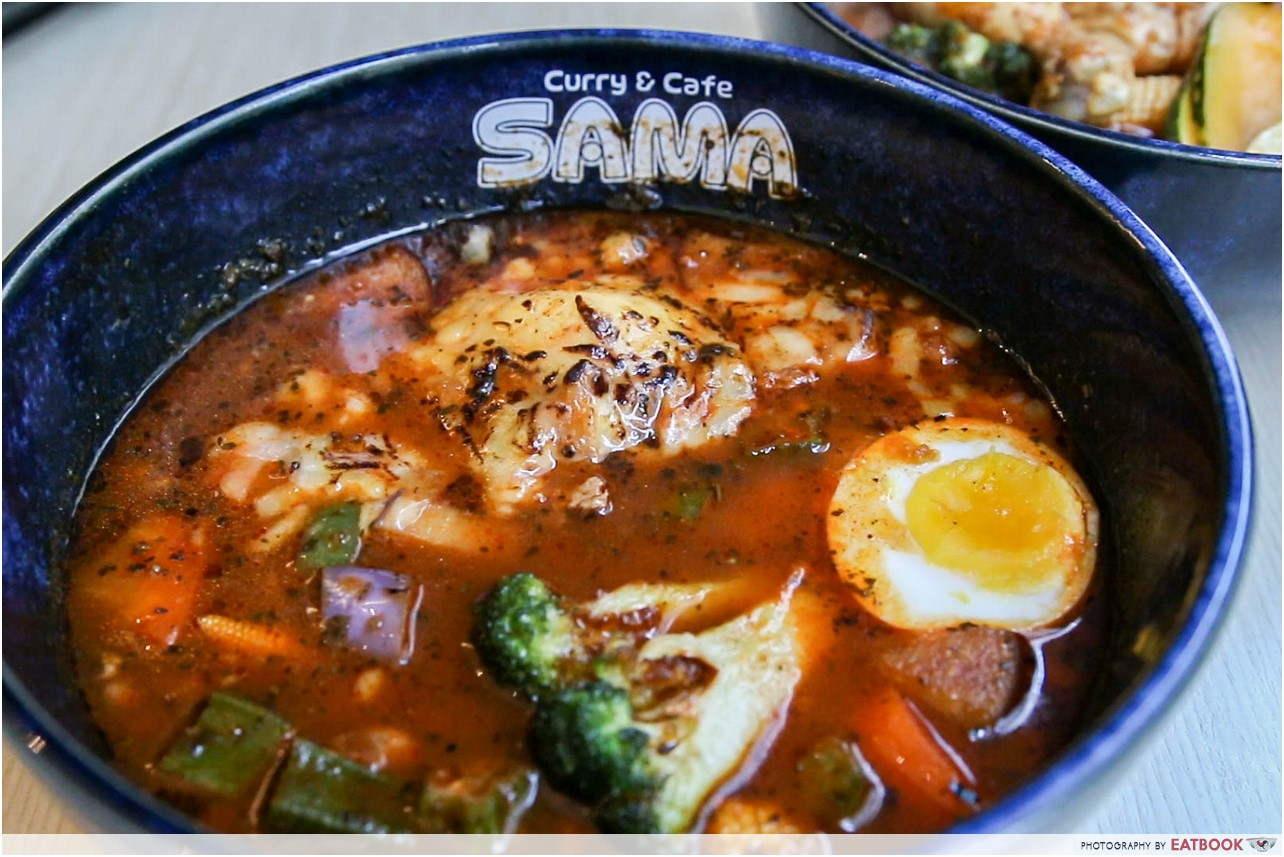 sama curry - keema natto