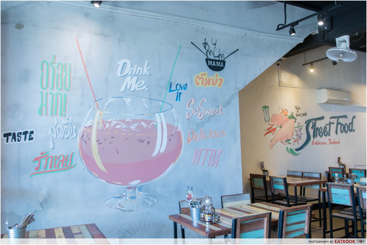 tomyum mama - mural