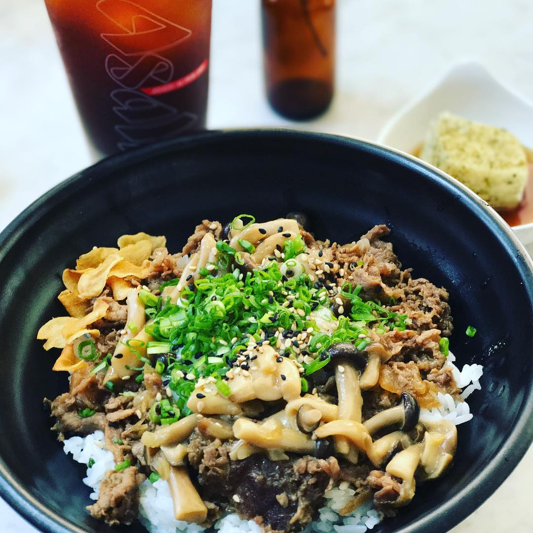 affordable beef donburi - the refinery