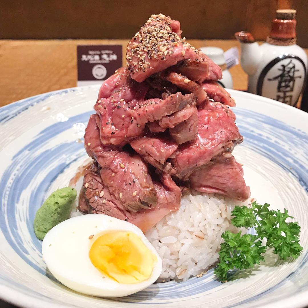 affordable beef donburi - sundaime bunji