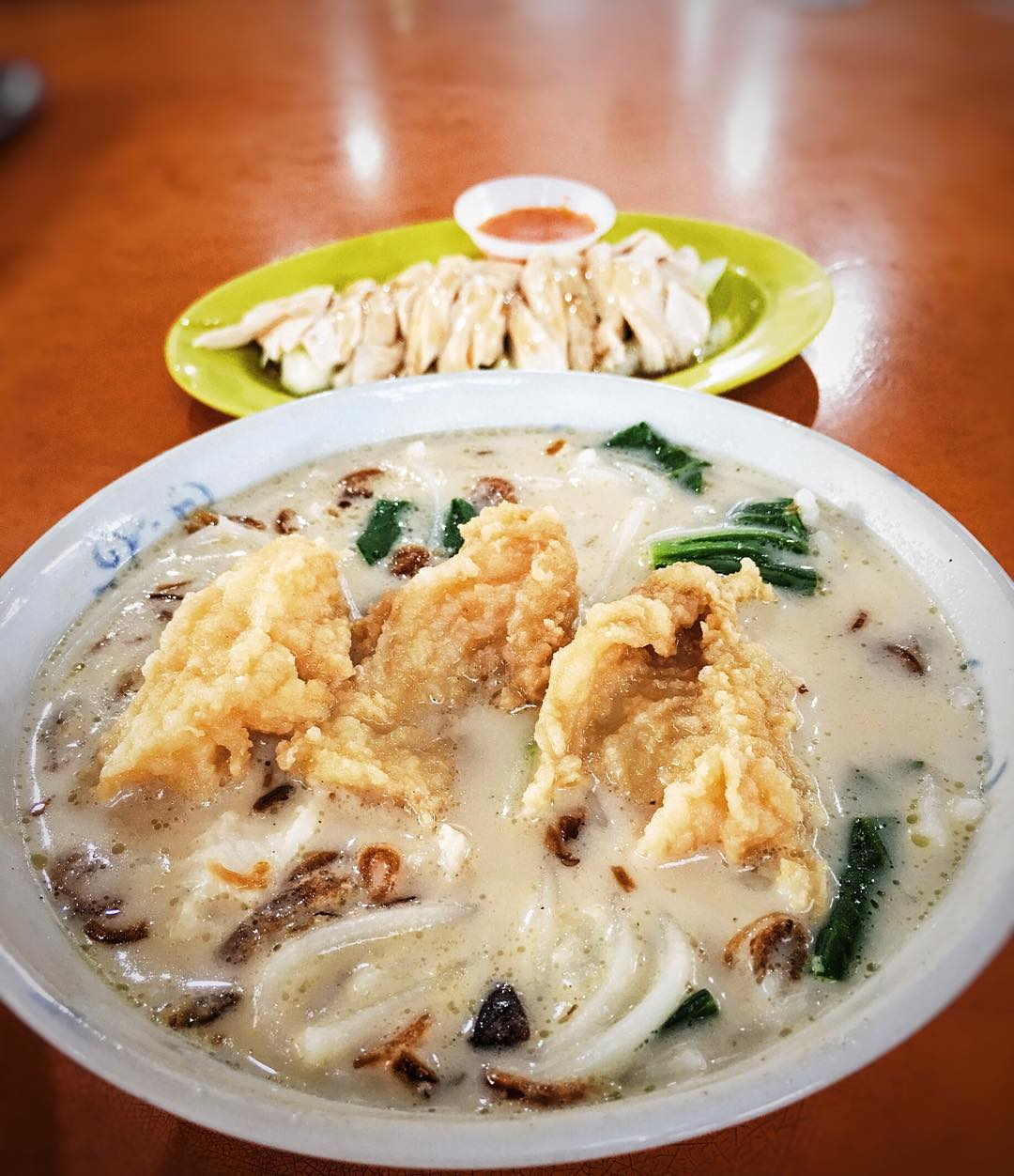 famous fish soup - jin hua fish soup