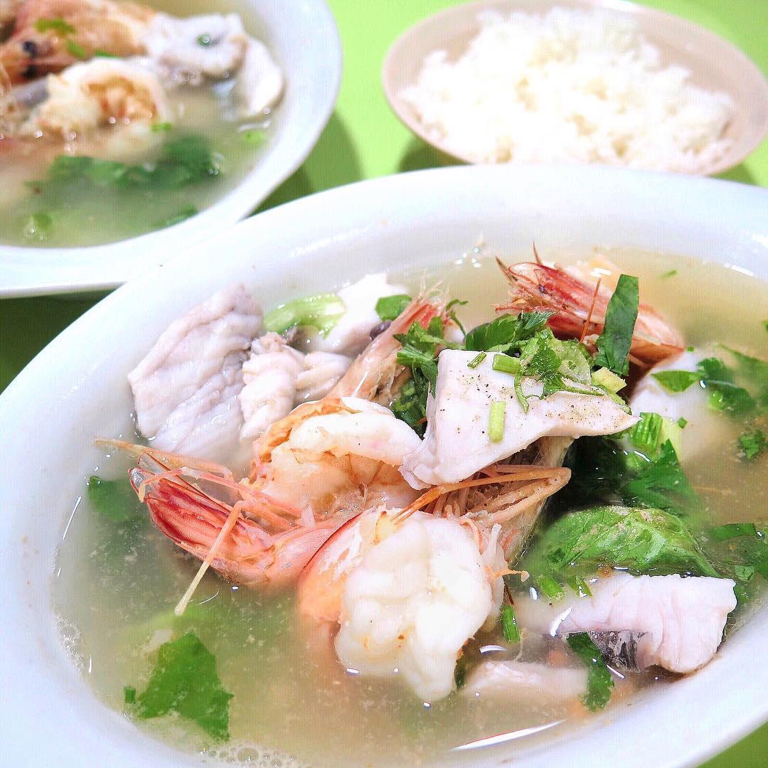 famous fish soup - piao ji fish porridge