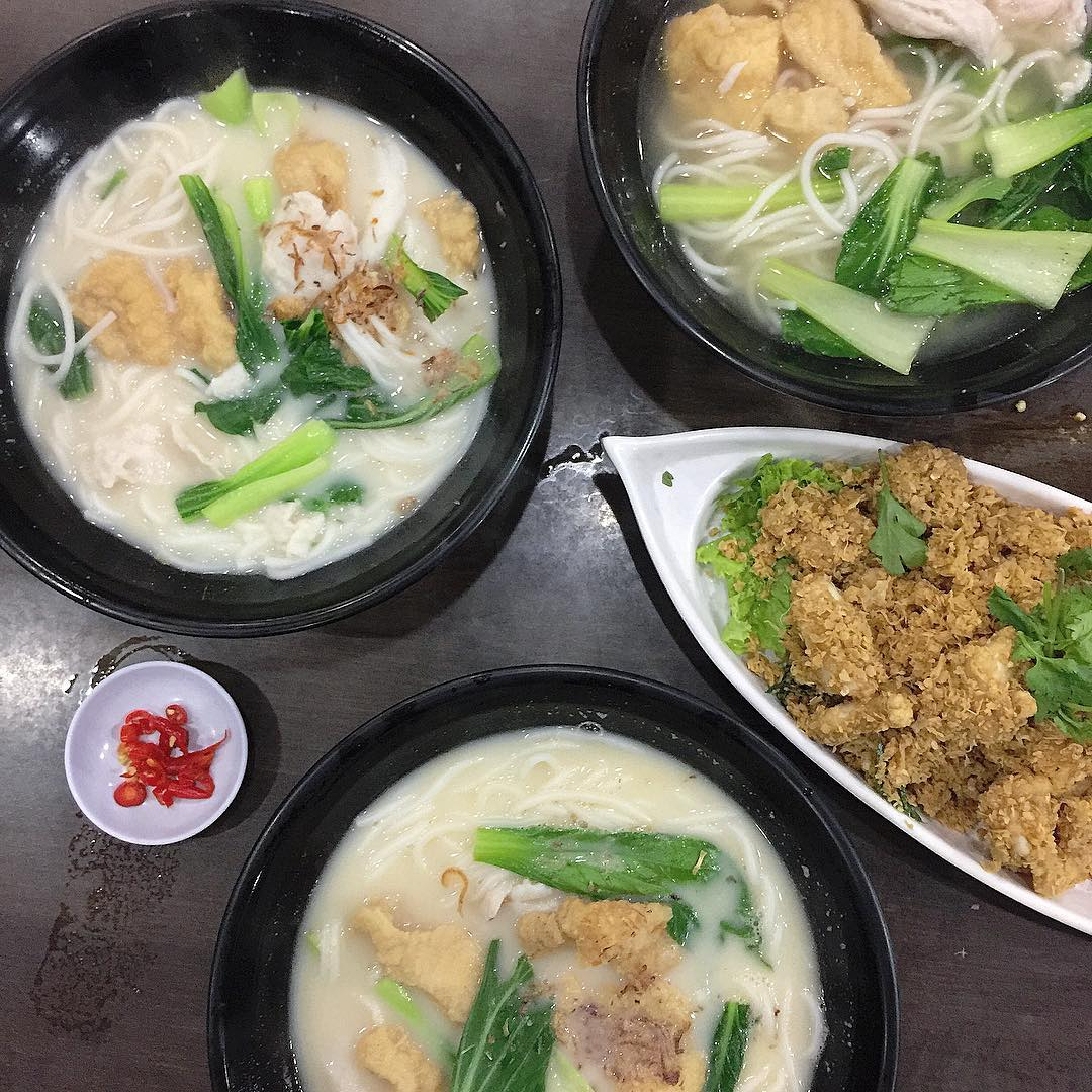 famous fish soup - xin yuan ji