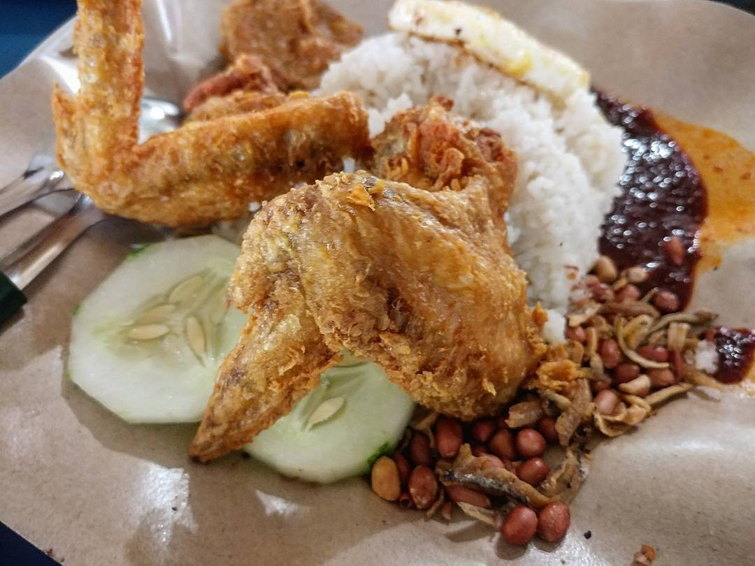 late-night halal - boon lay power nasi lemak