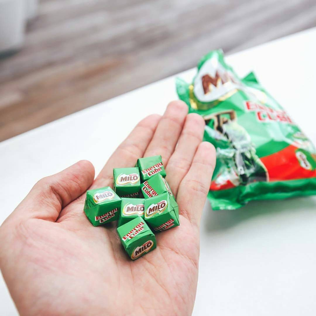 next-level snacks - milo cubes