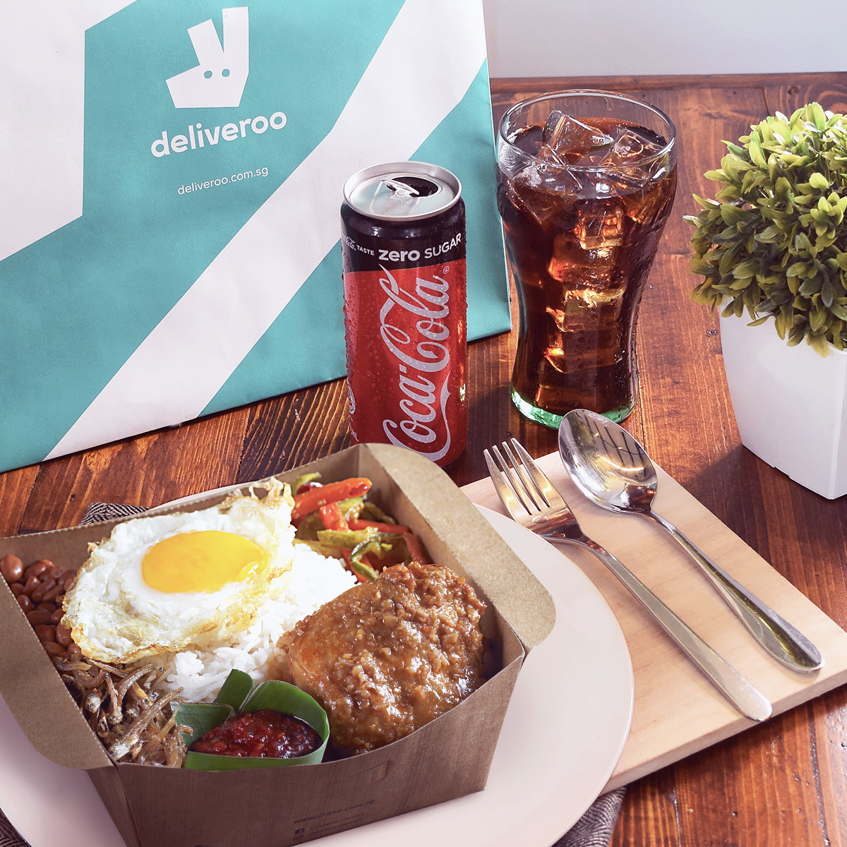 Deliveroo Nasi Lemak bundle - crave