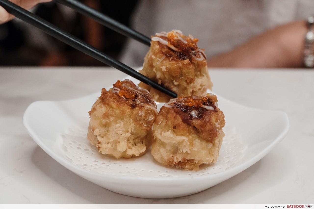 Dim Sum Place - deep fried siew mai