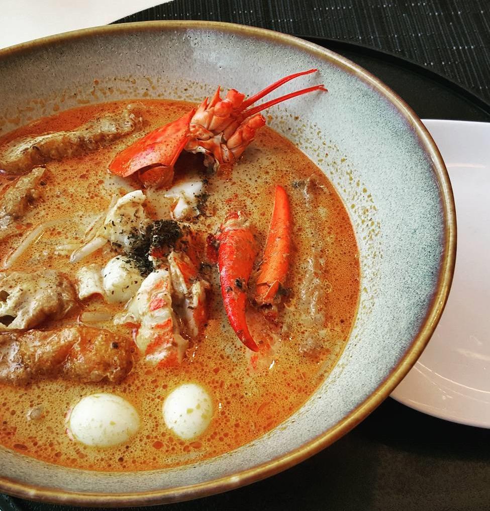 Atas Hawker Dishes - lobster laksa